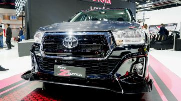 Toyota Hilux Revo Z Edition Black Mamba at 2019 BIMS 7