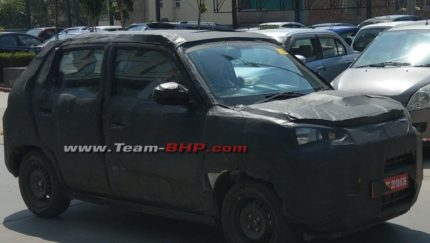 Suzuki Testing New Hatchback in India Can Be the Next Gen Alto 3