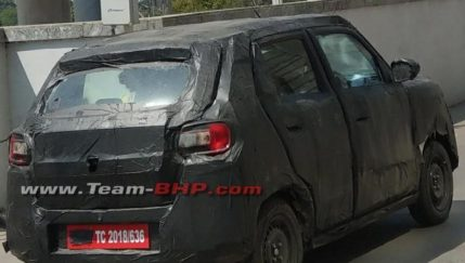 Suzuki Testing New Hatchback in India Can Be the Next Gen Alto 4