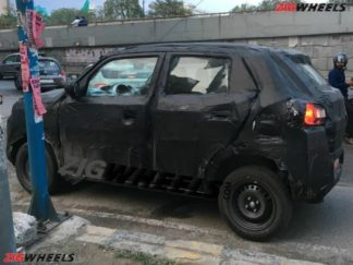 Suzuki Testing New Hatchback in India Can Be the Next Gen Alto 5