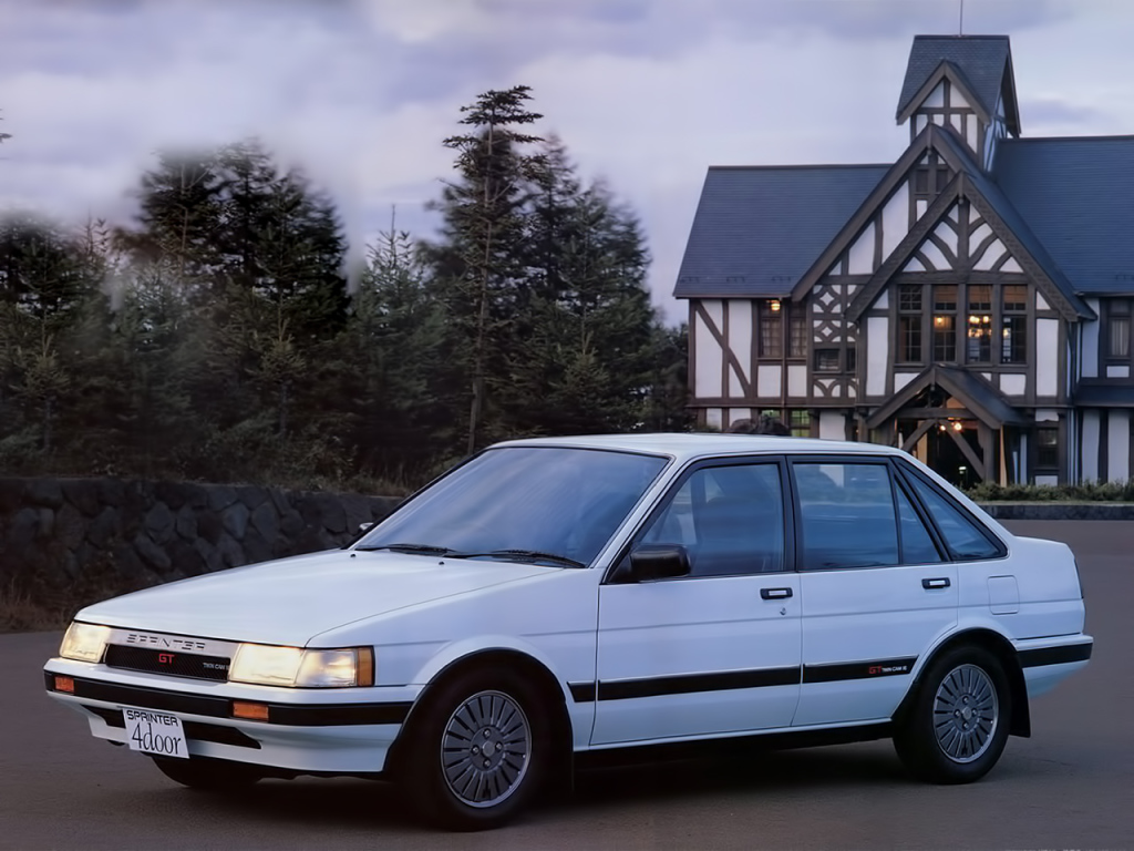 Remembering the Toyota Sprinter 11