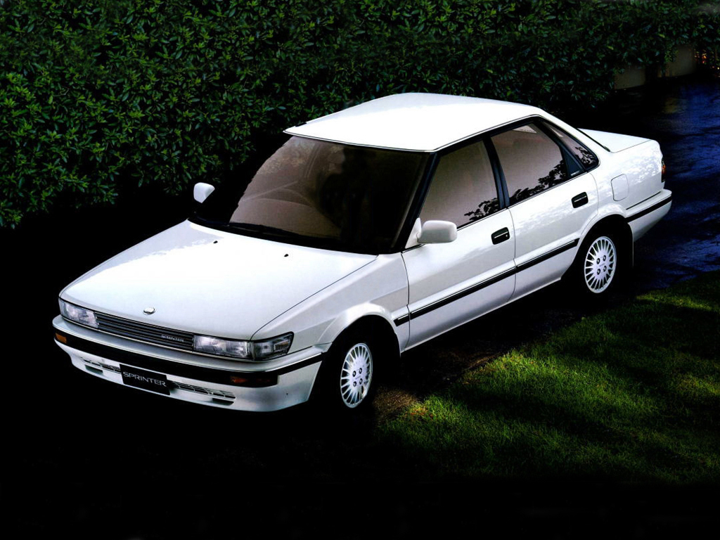 Remembering the Toyota Sprinter 12
