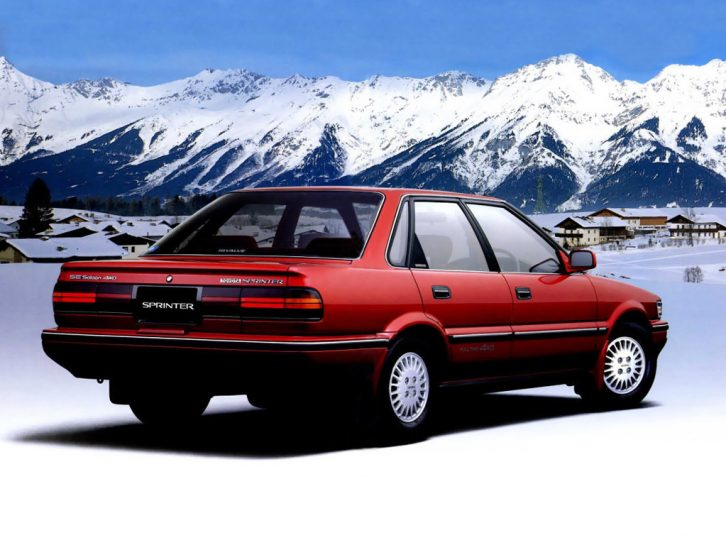 Remembering the Toyota Sprinter 20