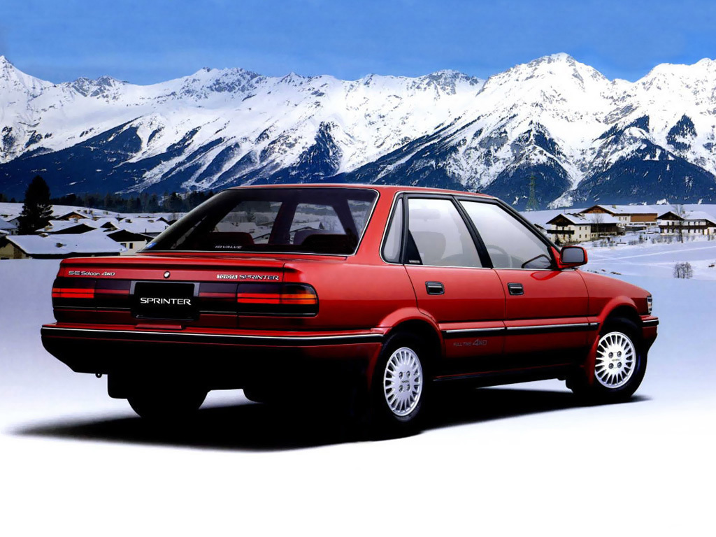 Remembering the Toyota Sprinter 15