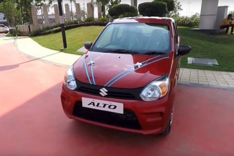 New Suzuki Alto launched in India at INR 2.93 Lac 7