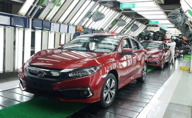 Honda Atlas Teasing the 2019 Civic Facelift 3