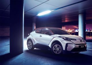 Toyota's First EVs for China are C-HR/ IZOA Twins 4