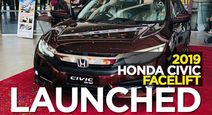 2019 Honda Civic Facelift Launched 1