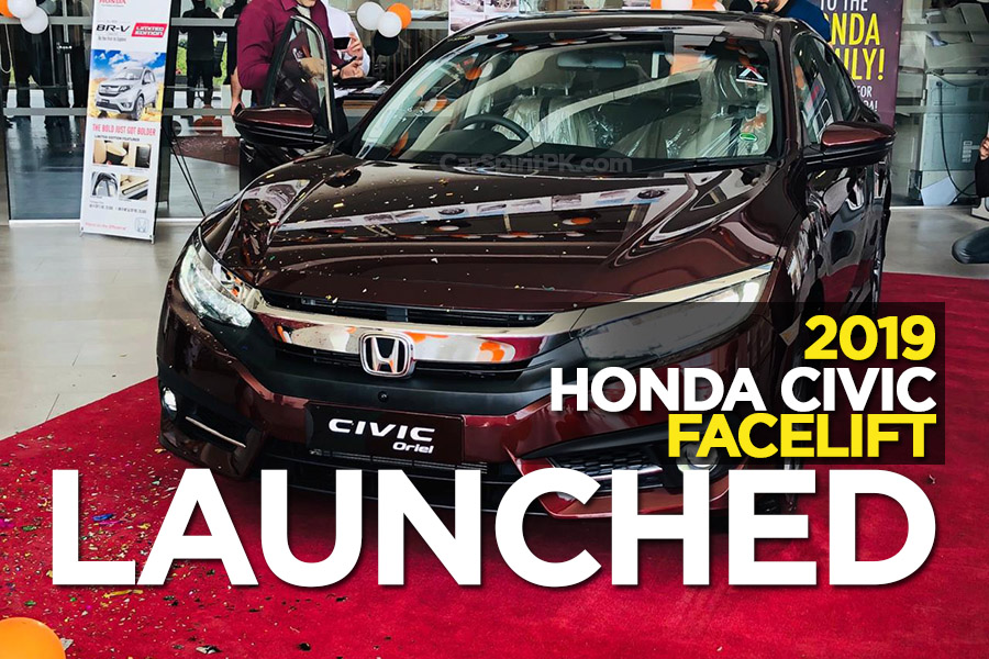 2019 Honda Civic Facelift Launched 6