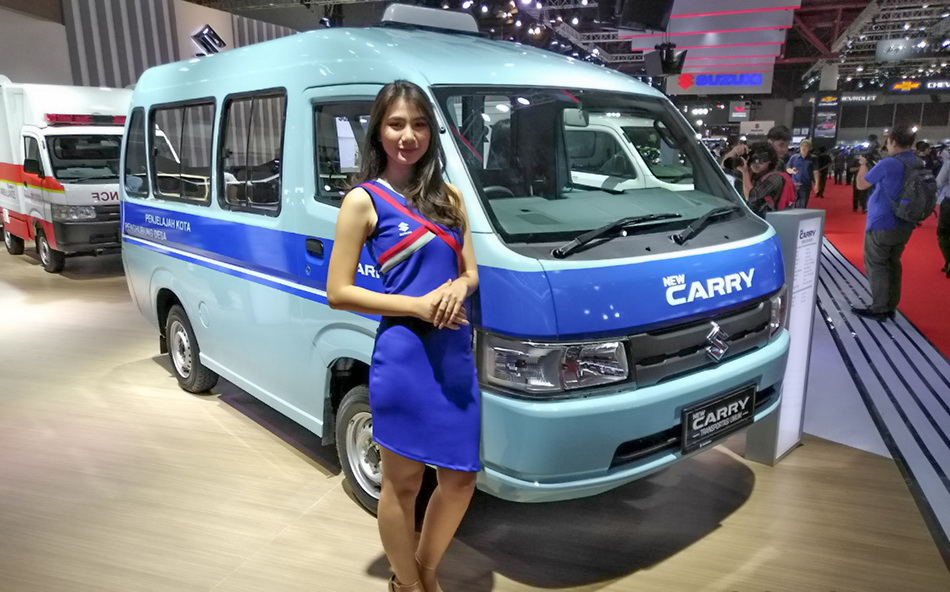All-new 2019 Suzuki Carry Debuts at IIMS 2019 17