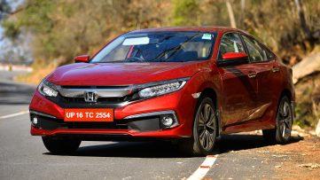 Honda Atlas Teasing the 2019 Civic Facelift 5