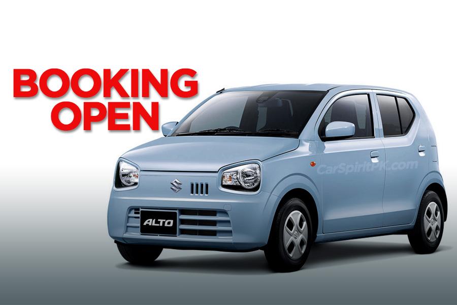 Suzuki Alto 660cc Corporate Bookings Open 10