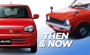 Suzuki Alto- Then and Now 10