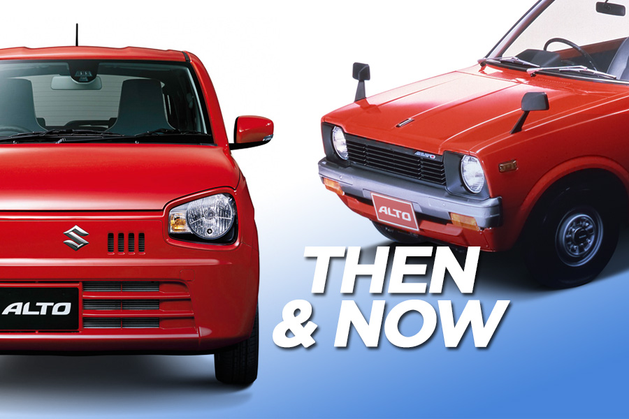 Suzuki Alto- Then and Now 3