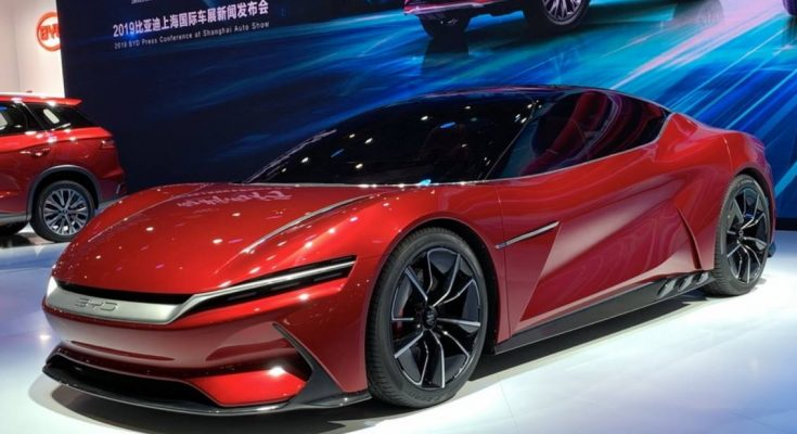 BYD E-SEED GT Concept at 2019 Auto Shanghai 1