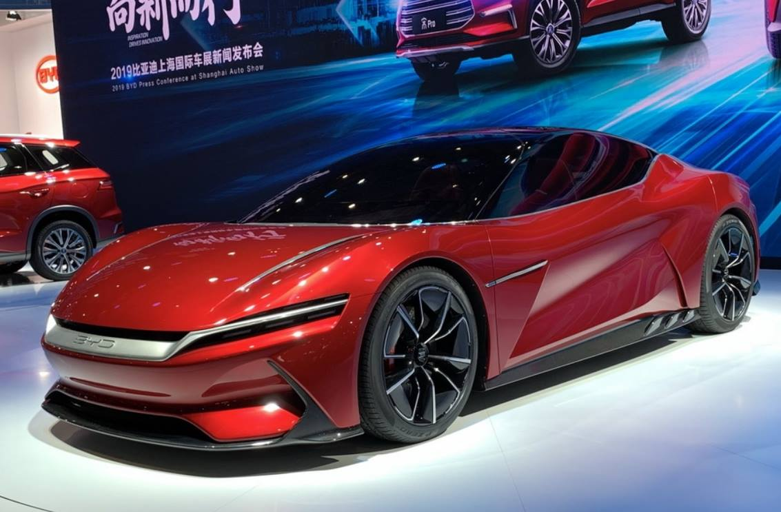 BYD E-SEED GT Concept at 2019 Auto Shanghai 4