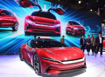 BYD E-SEED GT Concept at 2019 Auto Shanghai 11