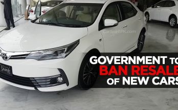 Government to Ban Resale of New Vehicles 16
