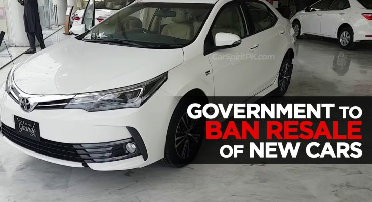 Government to Ban Resale of New Vehicles 2