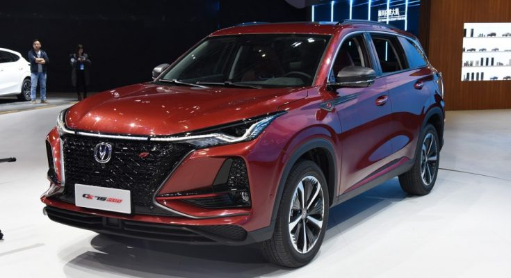 Changan CS75 Plus SUV at 2019 Auto Shanghai 1