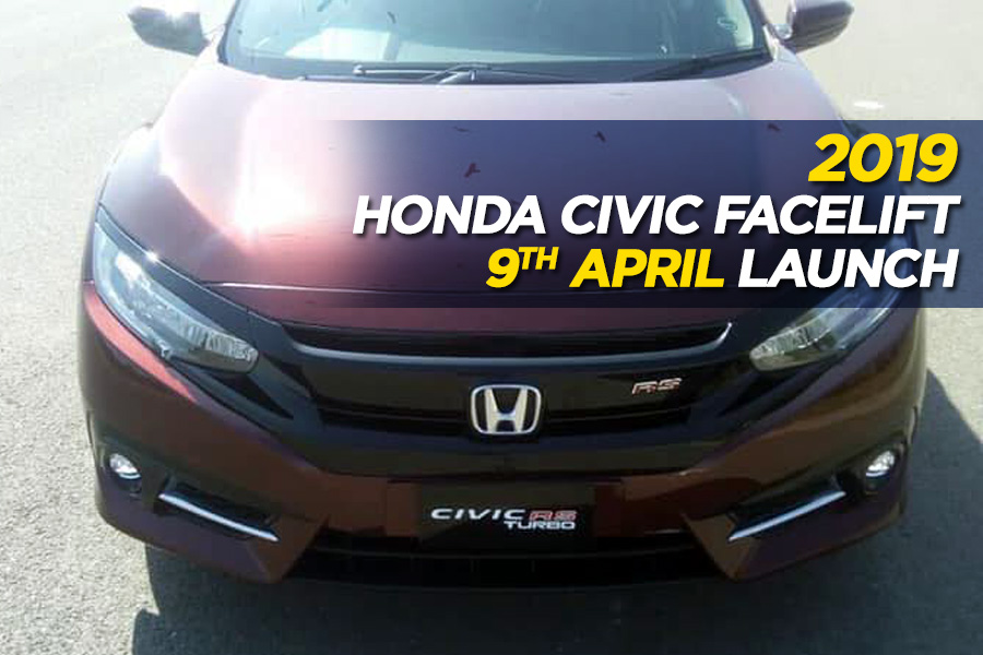 Honda Civic Facelift to Launch on 9th April 1