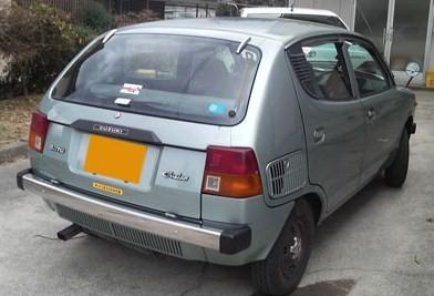The Suzuki Fronte 7-S (Custom Car) 5