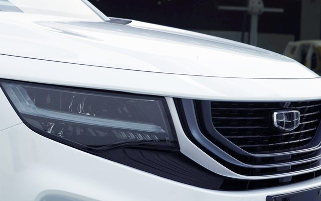 Geely Readying New VX11 7-seat MPV 1