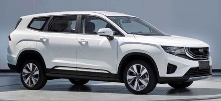 Geely Readying New VX11 7-seat MPV 5