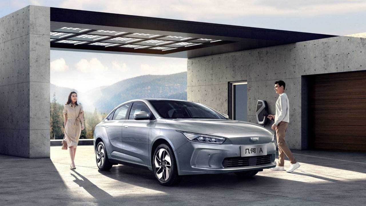 Geely Launches New EV Brand 'Geometry' to Take on Tesla 10