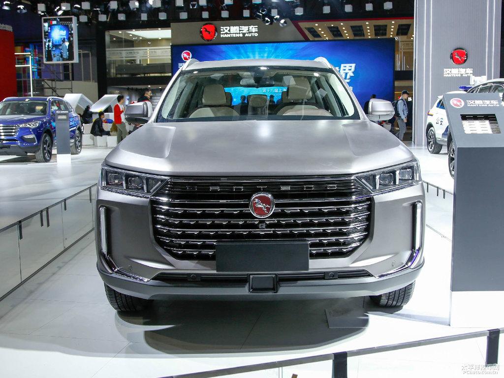 Hanteng X8 SUV at 2019 Auto Shanghai 1