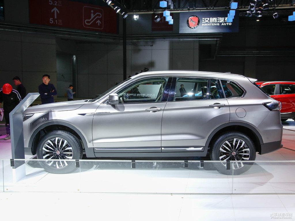 Hanteng X8 SUV at 2019 Auto Shanghai 4