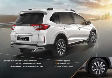 2019 Honda BR-V Facelift Launched in Indonesia 5