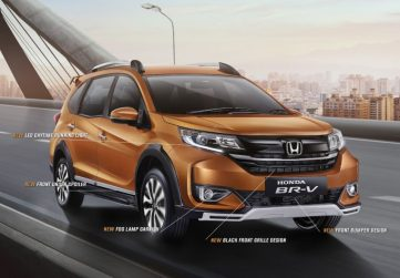 2019 Honda BR-V Facelift Launched in Indonesia 2