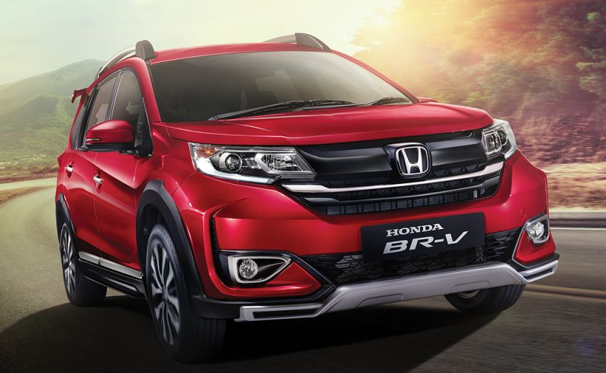 2019 honda br-v facelift launched in indonesia