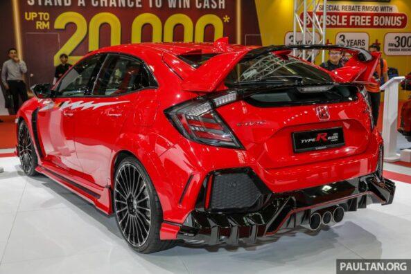 Honda Civic Type R Mugen Concept at 2019 Malaysia Auto Show 2