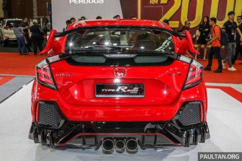Honda Civic Type R Mugen Concept at 2019 Malaysia Auto Show 8