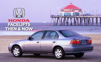 Honda and Facelifts- Then & Now 6