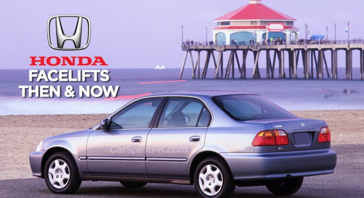 Honda and Facelifts- Then & Now 10