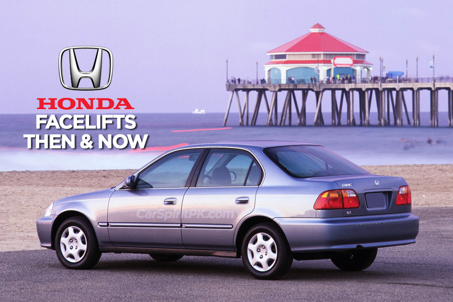 Honda and Facelifts- Then & Now 5