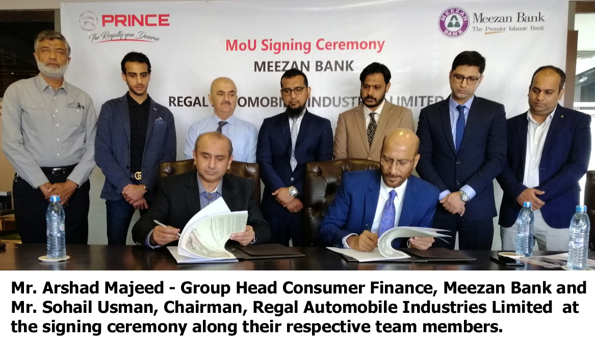 Meezan Bank and Regal Automobiles Enter into Strategic Alliance for Shariah-Compliant Car Financing Solutions 5