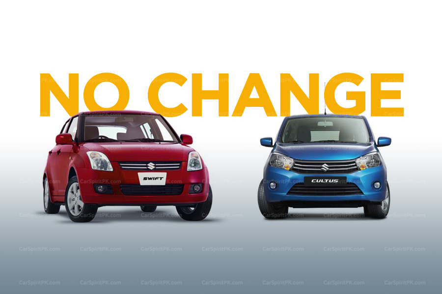 Prices of Suzuki Swift and Cultus VXL AGS Remain Unchanged 1