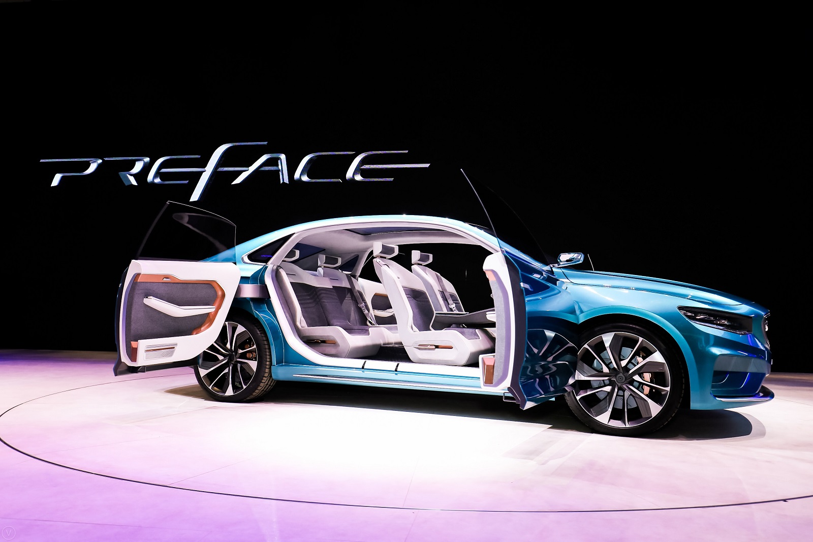 Geely Showcases the Preface Concept at 2019 Auto Shanghai 1