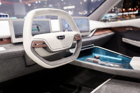 Geely Showcases the Preface Concept at 2019 Auto Shanghai 8