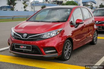 2019 Proton Iriz and Persona Facelifts Unveiled at Malaysia Autoshow 7