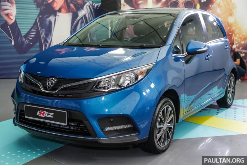 2019 Proton Iriz and Persona Facelifts Unveiled at Malaysia Autoshow 1