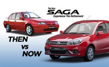 Proton Saga- Then & Now.. 6