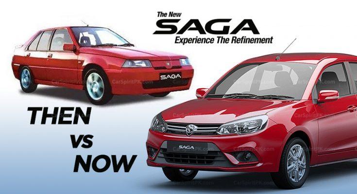 Proton Saga- Then & Now.. 1