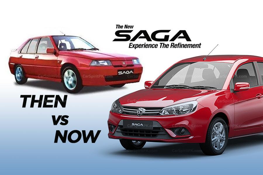 Proton Saga- Then & Now.. 5