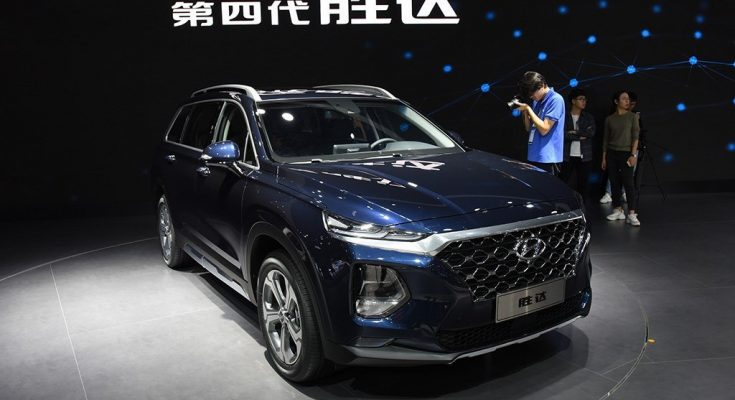 All New Hyundai Santa Fe Launched in China 1