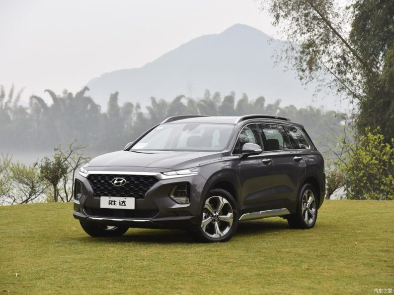 All New Hyundai Santa Fe Launched in China 2